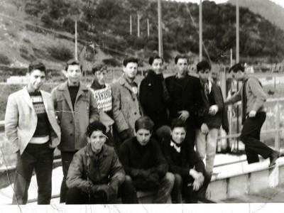 J.C. Bogolasky, E. Krell, C. Cunliffe, Z. Korn, I. Orhanovic, C. Cood, M. Burr, P. Fried, P. Vermehren y M. Aviñó, central hidroeléctrica 1964 - small