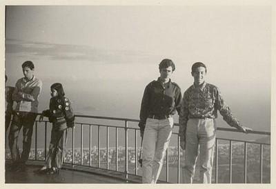 Marcos Zylberberg y Luis De Mayo, Viaje de estudios, Río de Janeiro - small