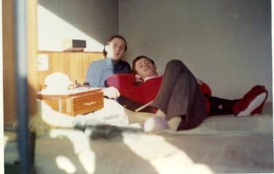 Zacarías Korn, viaje de estudios 1966 - small