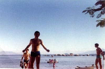 Zacarías Korn, Brasil, viaje de estudios 1966 - small