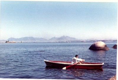 Mendel Kanonitsch, Brasil, viaje de estudios 1966 - small