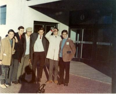 Edgar Bogolasky, Mendel Kanonitsch y otros, viaje de estudios 1966 - small